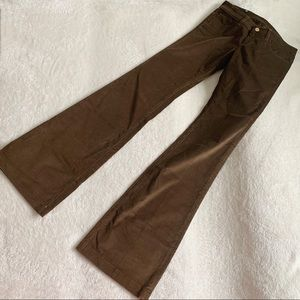 NWT Authentic Gucci 70's Corduroy Flare Jean Pants